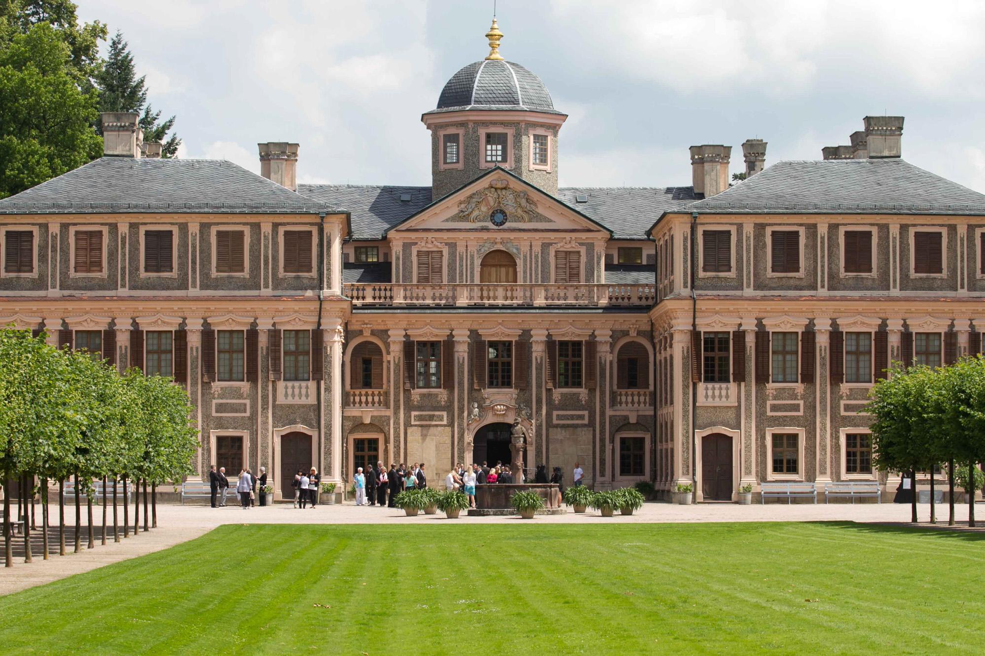 Hochzeitsfotografie am Schloss