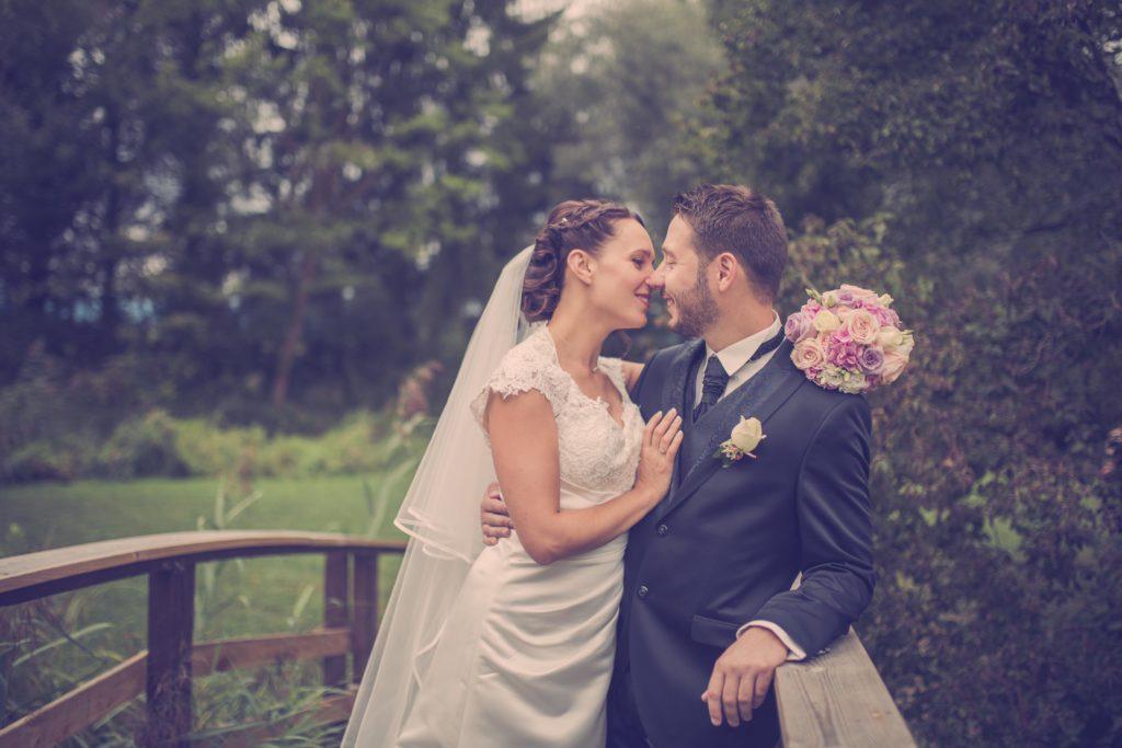 Hochzeitbilder vom Brautpaar in Biesheim